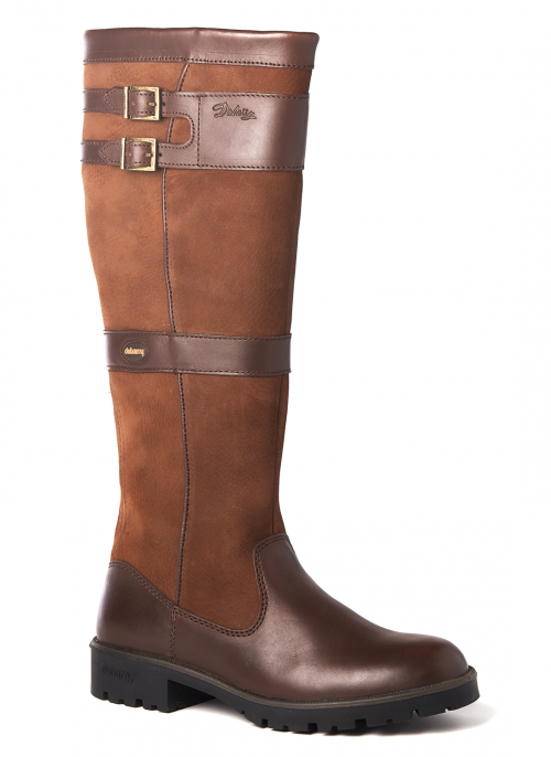 dubarry-longford-walnut-waterproof-boots