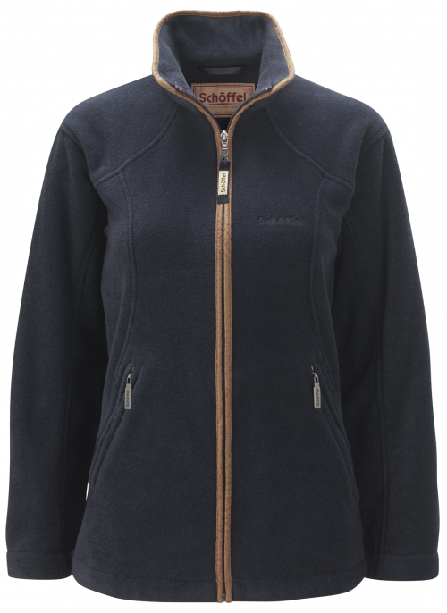 schoffel-burley-navy-fleece-ladies-jacket