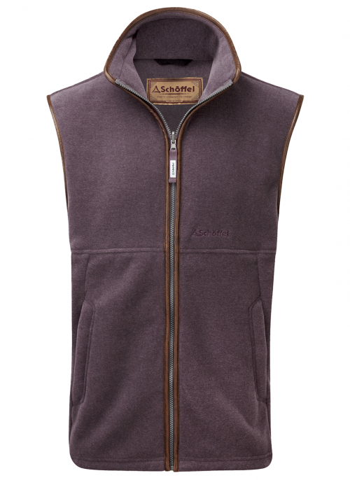 schoffel-oakham-lyndon-fleece-mink-heather-gilet