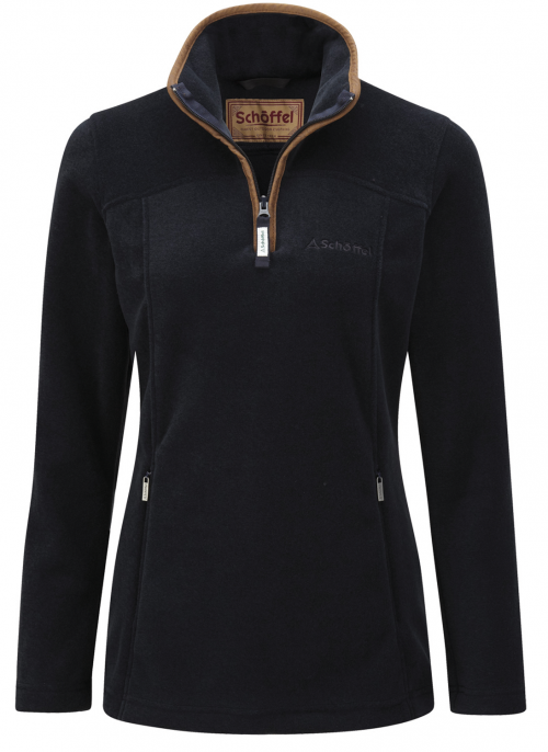 schoffel-tilton-ladies-fleece-1/4zip-jumper