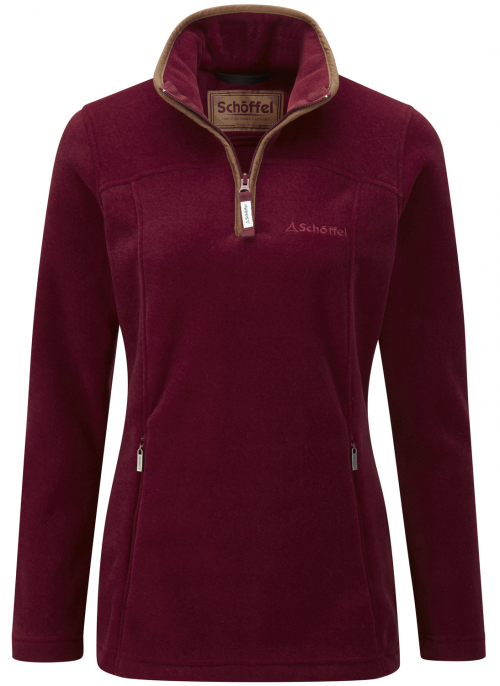schoffel-tilton-fleece-1/4zip-ladies-jumper