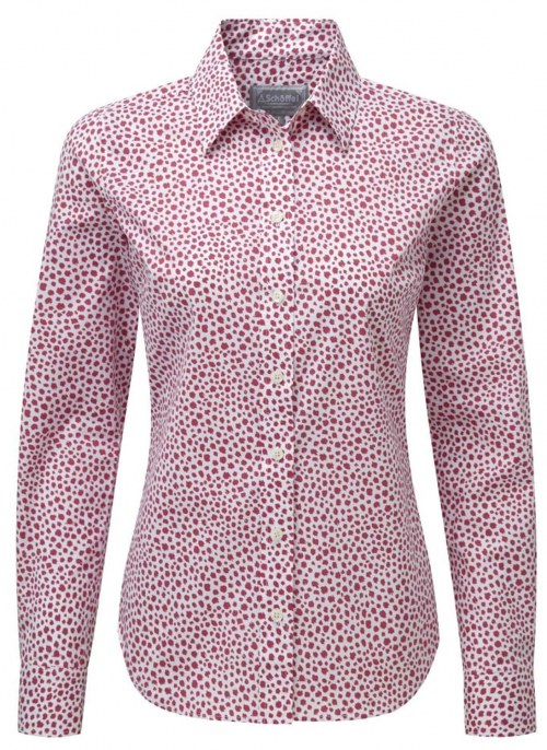schoffel-suffolk-ladies-pink-shirt