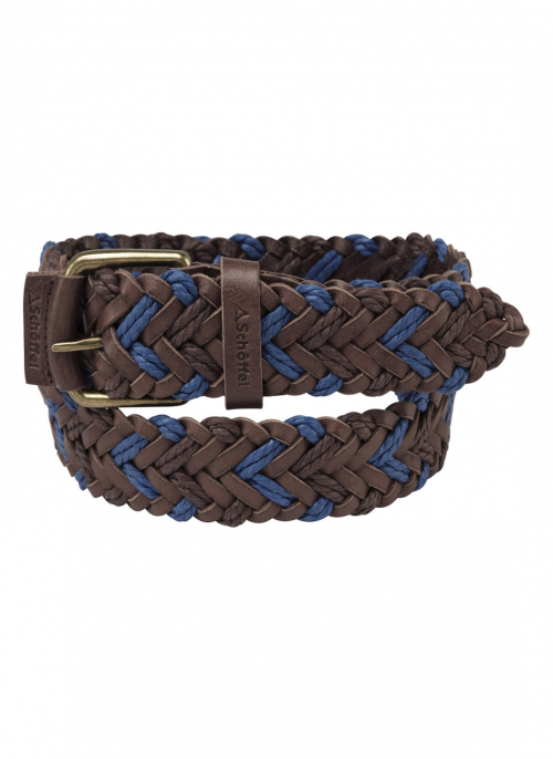 schoffel-woven-leather-belt-brown-blue-