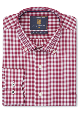 brook-taverner-gingham-mens-shirt-bredonhillshooting