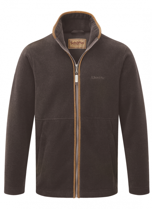schoffel-cottesmore-mocha-fleece-mens-jacket