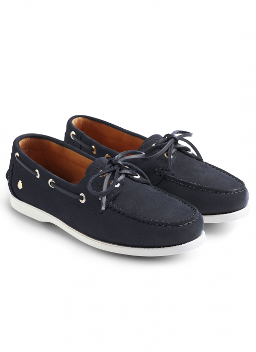 fairfax-&-favor-salcombe-navy-deck-shoes