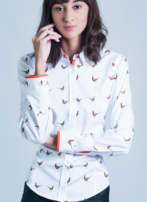 hartwell-double-pheasant-ladies-shirt