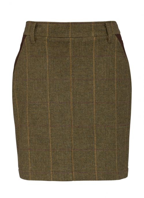 alan-paine-combrook-heather-tweed-skirt
