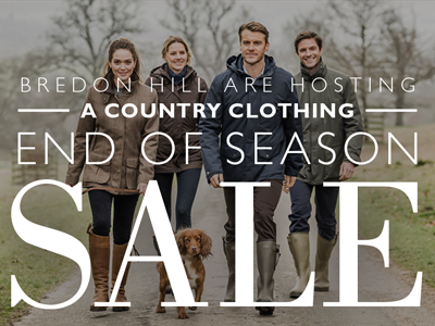 Country Clothing End of Season Clearance Sale along side New Collections