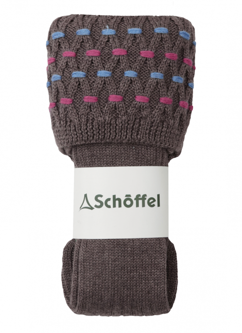 schoffel-stitch-mink-ladies-shooting-socks