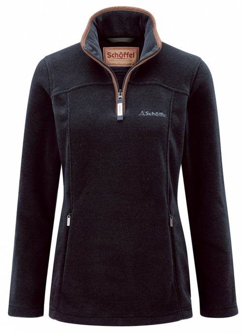 schoffel-tilton-slate-blue-fleece-14zip-ladies-jumper