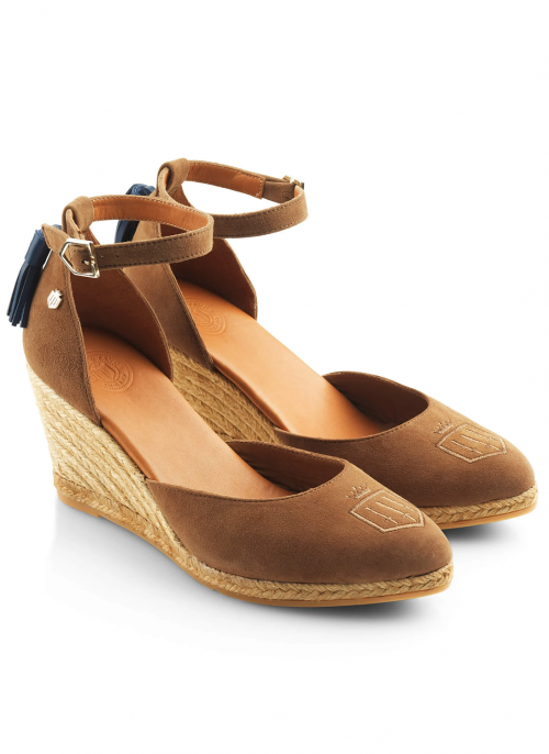 fairfax-&-Favor-monaco-wedge-tan-suede-sandals