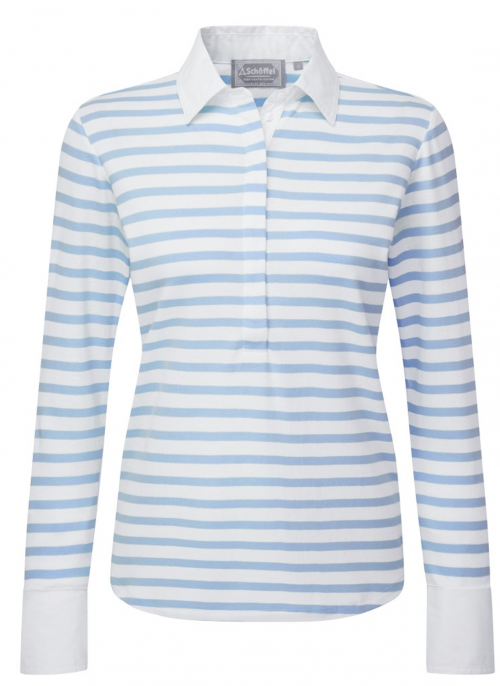 schoffel-salcombe-cornflower-ladies-shirt