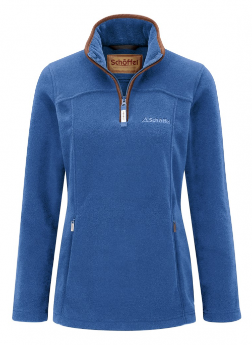 schoffel-cobalt-blue-tilton-fleece-ladies-jumper