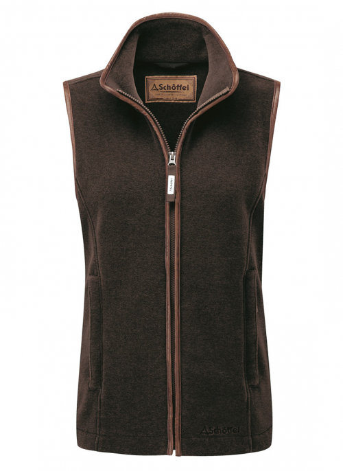 schoffel-lyndon-fleece-mocha-ladies-gilet