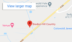 Google map location Bredon hill Shooting Shop